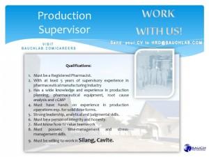 production-supervisor